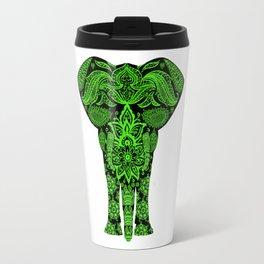 Green Elephant Travel Mug