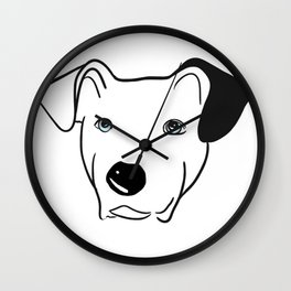 A dog named Beau Wall Clock