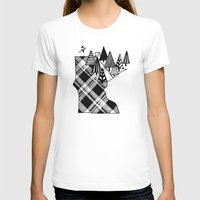 minnesota T-shirts featuring Minnesota Love by cmbringle