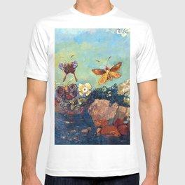 Odilon Redon Butterflies T-shirt