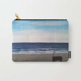 wagon on the beach Carry-All Pouch