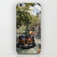 popeye iPhone & iPod Skins featuring Popeye and Bluto bilge-rat barges by Nick De Clercq