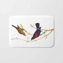 Prairie Starling Bird Bath Mat