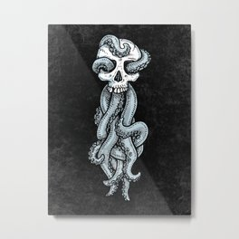 Tentaskull Metal Print