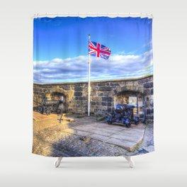 Edinburgh Castle Shower Curtain