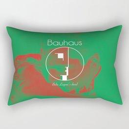 Bauhaus Bela Lugosi's Dead Album Cover Rectangular Pillow