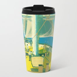 Kazusa Beach Metal Travel Mug