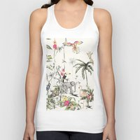 jungle Tank Tops featuring Jungle by Annet Weelink Design