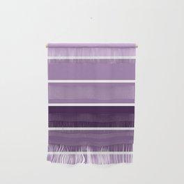 Lavender Purple Stripes Wall Hanging