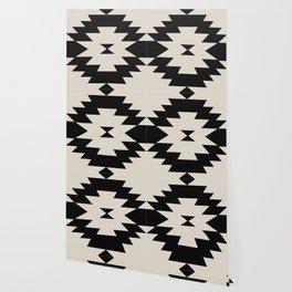 Southwestern Minimalism - Black Wallpaper