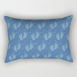 Baby feet background 2 Rectangular Pillow