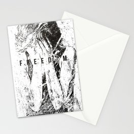 Feed on the powerless 1991 Stationery Cards