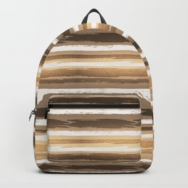 Abstract Fall Ocean Sunset Backpack