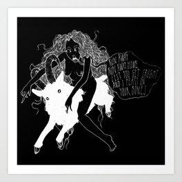 B O N E S Art Print