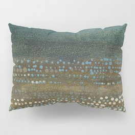 Landscape Dots - Night Pillow Sham