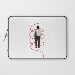 Red Thread 1 Laptop Sleeve