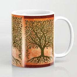Tree Of Life Warm Tones Coffee Mug