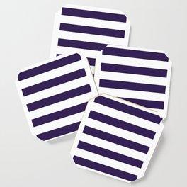 dark purple stripes Coaster