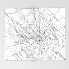 web of lies Throw Blanket