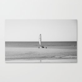 sand yachting Touquet Canvas Print