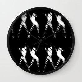 ▲►abstract dance◄▲ Wall Clock