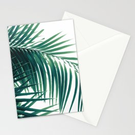 Palm Leaves Green Vibes #6 #tropical #decor #art #society6 Stationery Cards