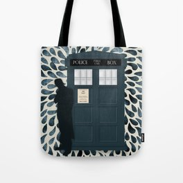 Dr Who and his Timey-Wimey Vehicle Tote Bag