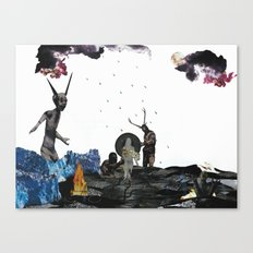 To Hell With You Canvas Print