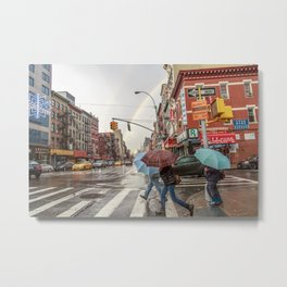 Rainbows in Chinatown Metal Print