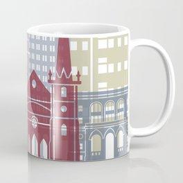 Fresno skyline poster Coffee Mug