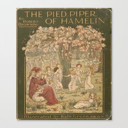 The Pied Piper of Hamelin - Robert Browning Canvas Print