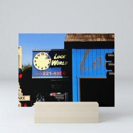 O O'CLock World Mini Art Print