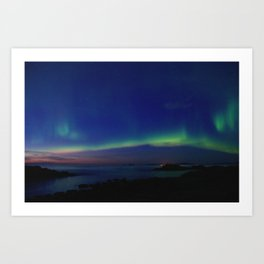 The Northern Lights 03 Art Print
