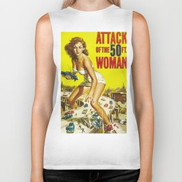 Attack of the 50 ft Woman Biker Tank