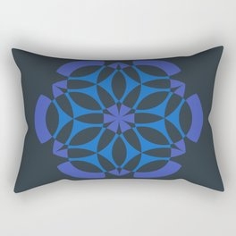 Stealthy sense | Abstract sacred geometry | Aliens crop circle Rectangular Pillow