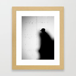 Captured by Shadow Framed Art Print