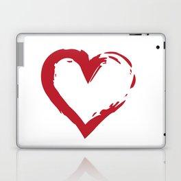 Heart Shape Symbol Laptop & iPad Skin