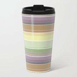 Horizontal stripes Travel Mug
