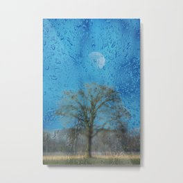 Concept landscape : The lonely tree Metal Print
