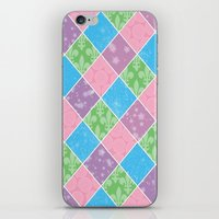 preppy iPhone & iPod Skins featuring Dazed & Preppy by Raizhay Lough