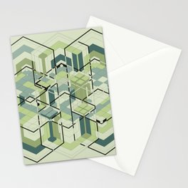 Hexagons #01 Stationery Cards