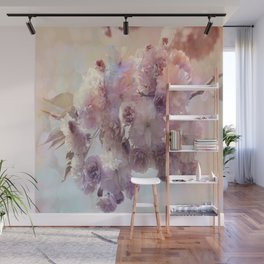 Vintage Beauty, Flower Blossoms Wall Mural