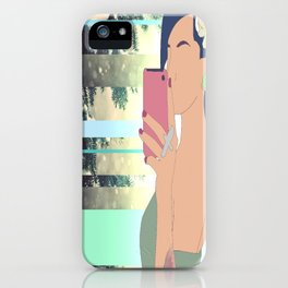 Depart From Me iPhone Case