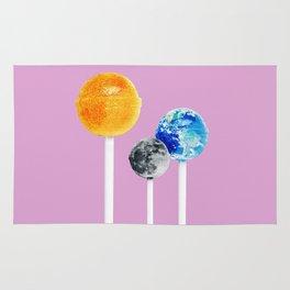 SUN MOON EARTH LOLLIPOPS Rug
