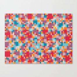 Yep. Pixels! Canvas Print
