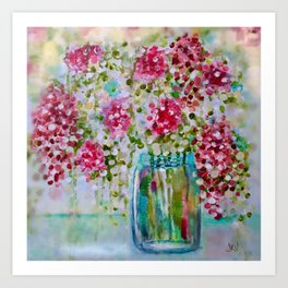 Blossoms of Light Art Print