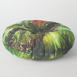 jungle leaves Floor Pillow
