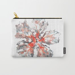 Watercolor Flower | Fluid Art | Bright Floral | Abstract Painting Carry-All Pouch