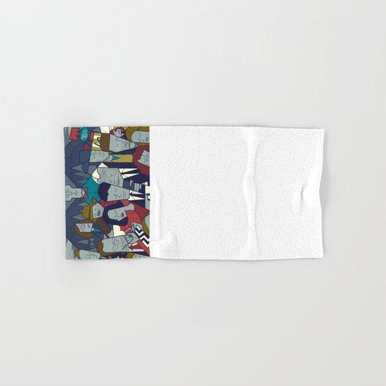 Twin Peaks (variant) Hand & Bath Towel