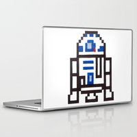 r2d2 Laptop & iPad Skins featuring r2d2 by Walter Melon